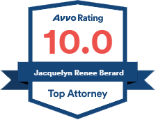 Jacquelyn Renee Berard Top Attorney, 10.0 AVVO Rating